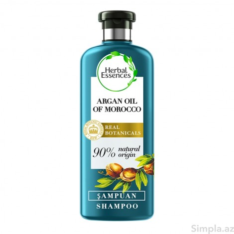 Herbal Essences Şampun Bərpaedici Arqan Yağı 400 ml