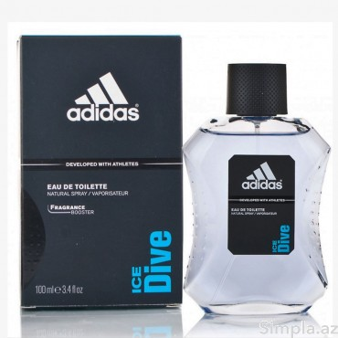 Adidas Kişi Ətiri (EDT) Ice Dive 100 ml