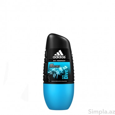 Adidas Roll-On Ice Dive 50 ml (Kişi)