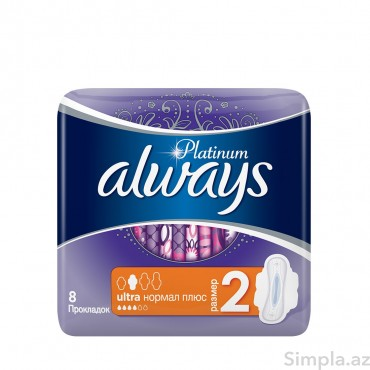 Always Platinum Ultra Normal Plus 8 ədəd