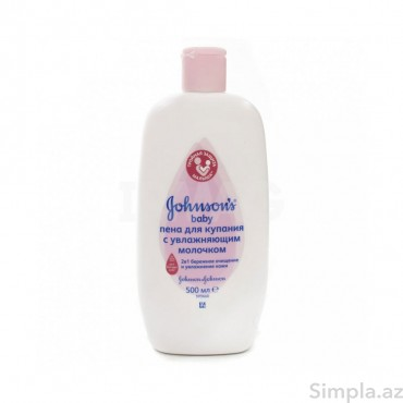 Johnson`s Baby Uşaq Yuyunma Köpüğü 500 ml