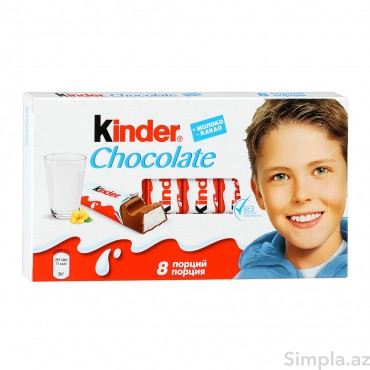 Kinder Şokolad 8li