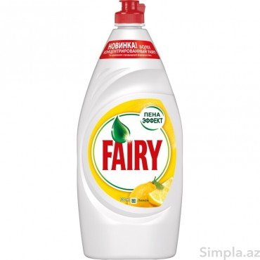 Fairy Qab Y/Maye Limon 900ml