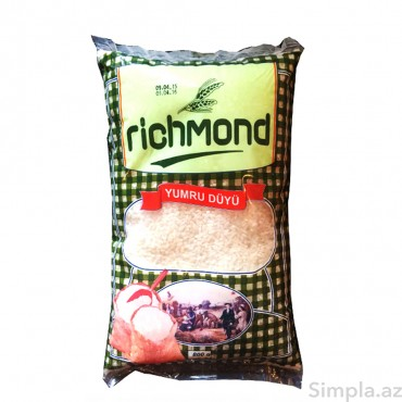 Richmond Yumru Düyü 800 gr