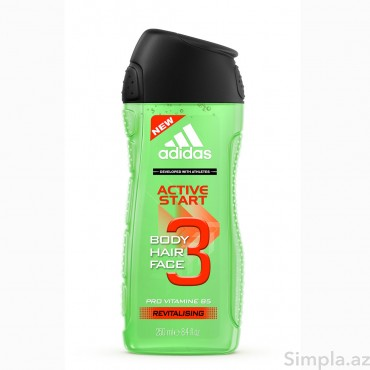 Adidas Duş Geli Active Start 250 ml (Kişi)