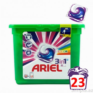 Ariel Pods Color & Style Капсулы для стирки  23 шт